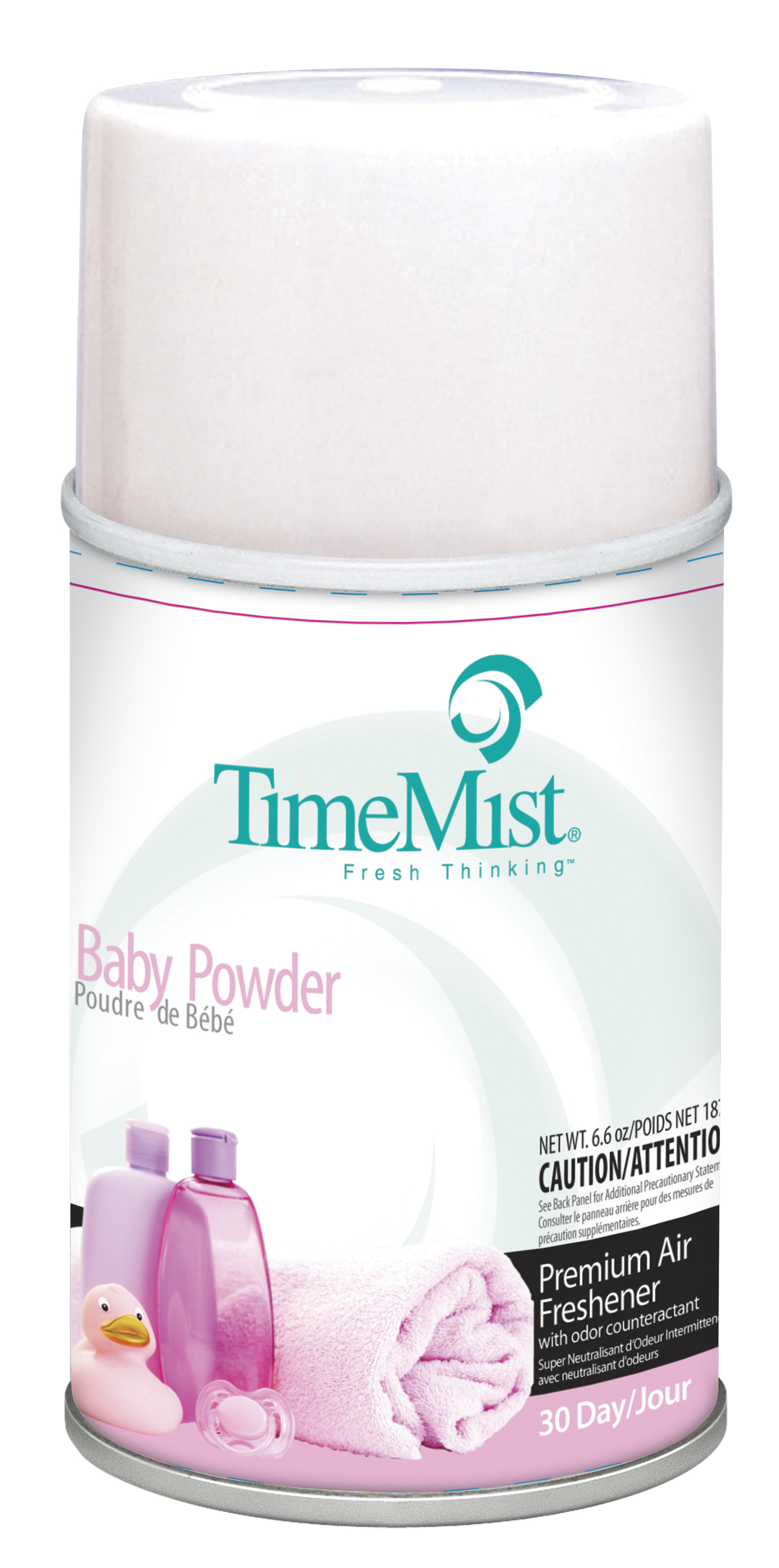 Baby Powder - TimeMist� 30-Day Metered Air System Refill 5.3oz Can