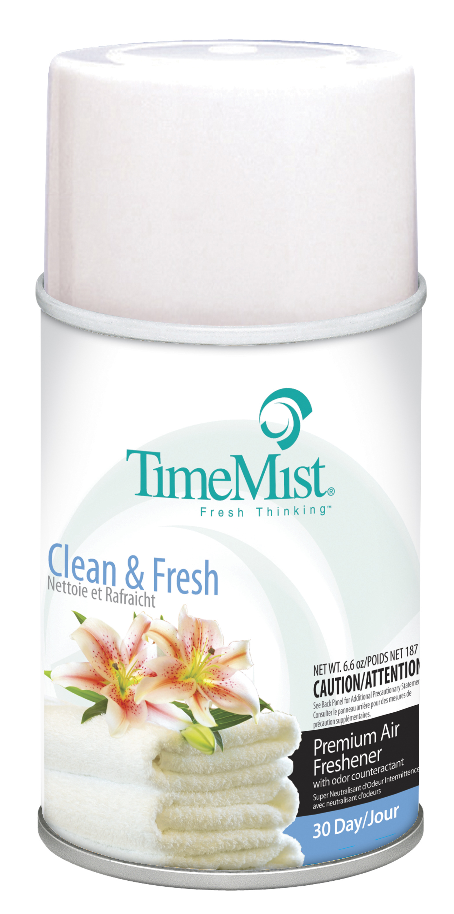 Clean & Fresh - TimeMist 30 Day Metered Air System Refill 6.6oz Aerosol Can