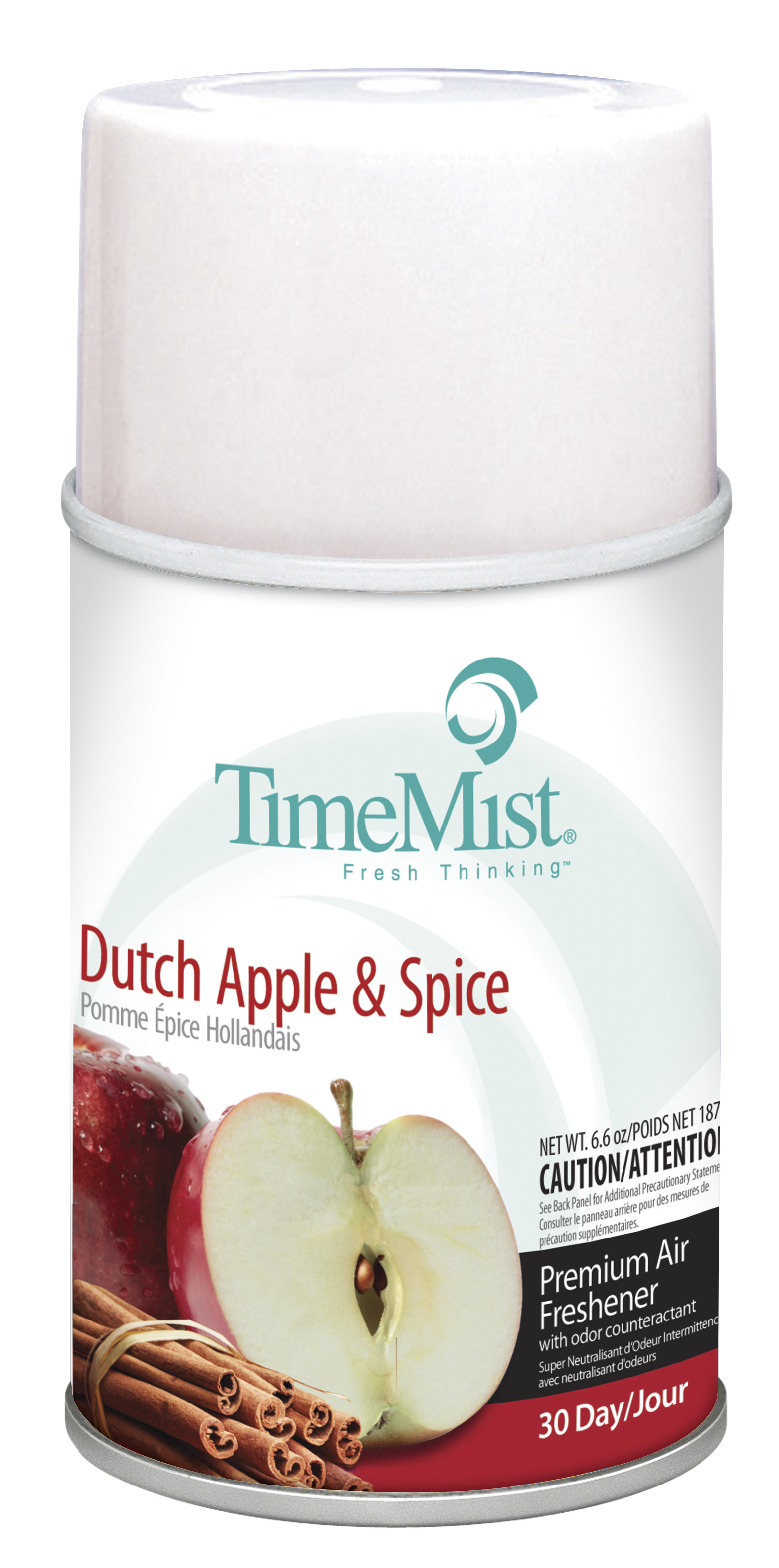 Dutch Apple Spice Time Mist 30-Day Metered Air System 6.6oz Aerosol Can