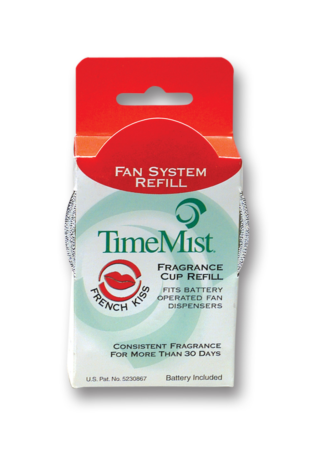 French Kiss - TimeMist Fan System Fragrance Cup Refill - (Case of 12)