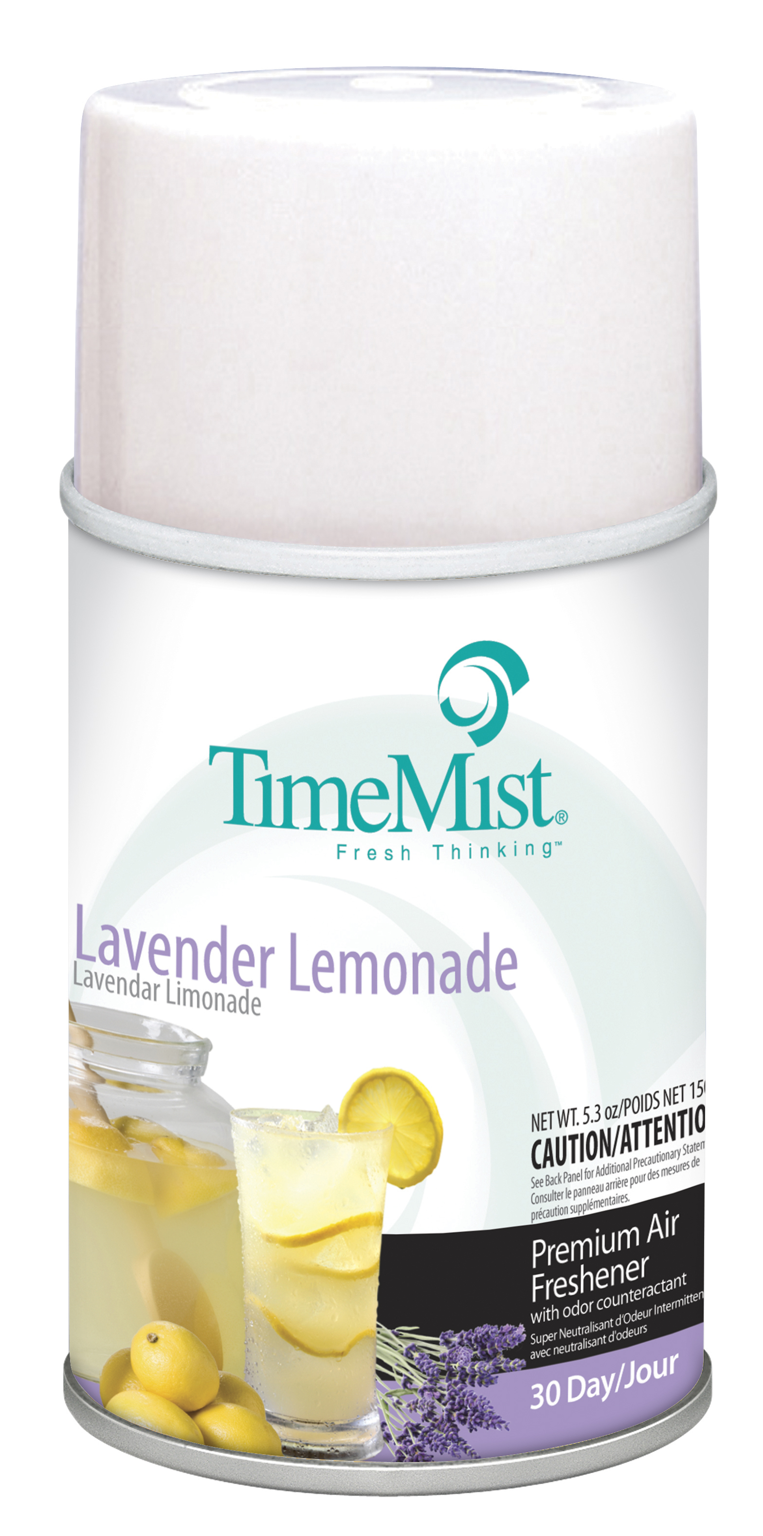 Lavender Lemonade -TimeMist� 30-Day Metered Air System Refill 5.3oz Aerosol Can
