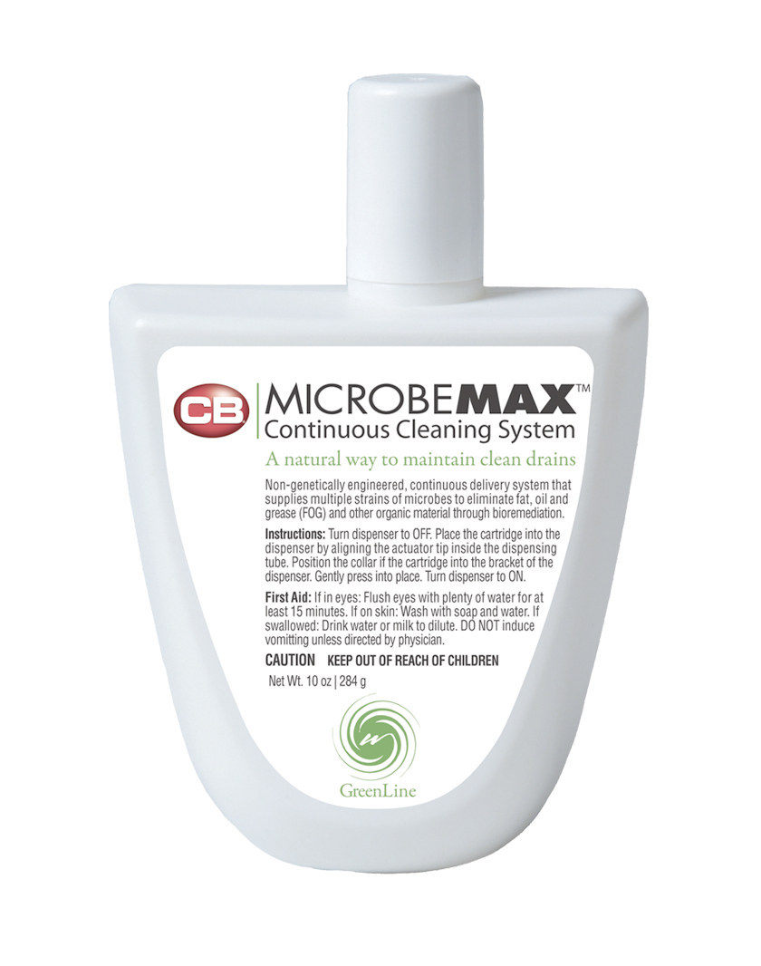 MICROBE MAX COMMERCIAL SINK AUTOMATIC DRAIN SANITIZER AND CLEANER REFILL