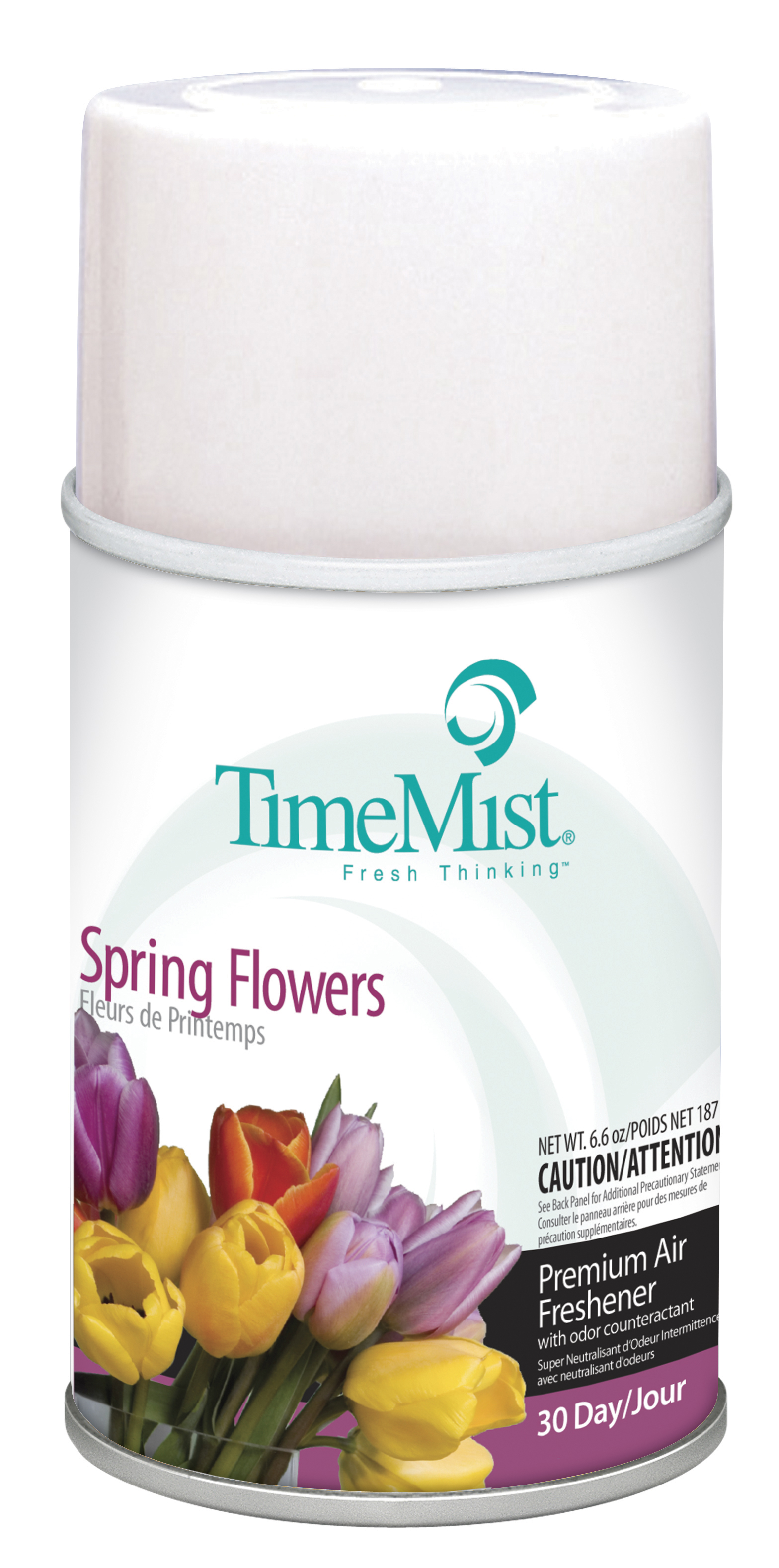 Spring Flowers - TimeMist� 30-Day Metered Air System Refill 5.3oz Aerosol Can